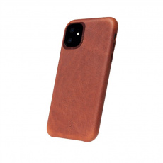 Decoded Leather Back Cover, brown - iPhone 11