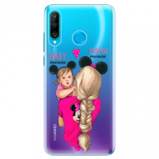 Plastové pouzdro iSaprio - Mama Mouse Blond and Girl - Huawei P30 Lite