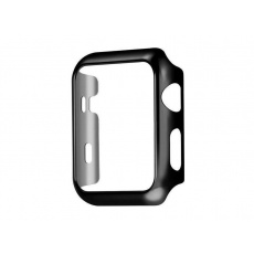 COTEetCI PC Plated Protective Case for Apple Watch 44mm Black