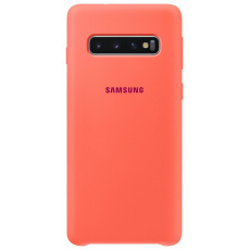 EF-PG973THE Samsung Silicone Cover Pink pro G973 Galaxy S10