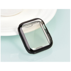 COTEetCI TPU Fully Plated Protective Case for Apple Watch 44mm Black