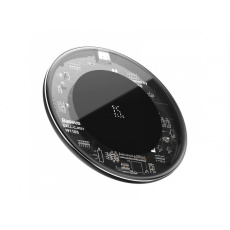 Baseus Simple Wireless Charger 15W (Updated Version for Type-C) Transparent