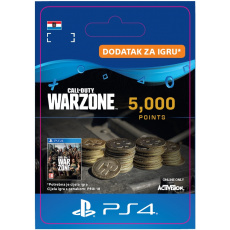 ESD HR - 5,000 Call of Duty®: Warzone™ Points