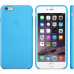 MGRH2ZM/A Apple Silicone Cover Blue pro iPhone 6 Plus/6S Plus