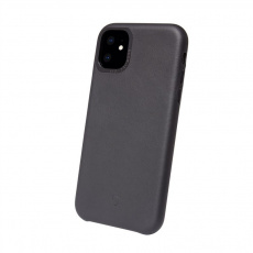 Decoded Leather Backcover, black - iPhone 11