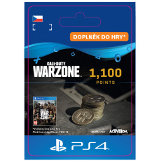 ESD CZ PS4 - 1,100 Call of Duty®: Warzone™ Points