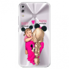 Plastové pouzdro iSaprio - Mama Mouse Blond and Girl - Asus ZenFone 5 ZE620KL