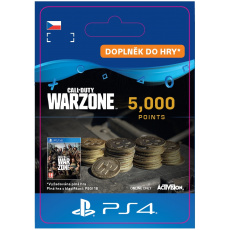 ESD CZ PS4 - 5,000 Call of Duty®: Warzone™ Points